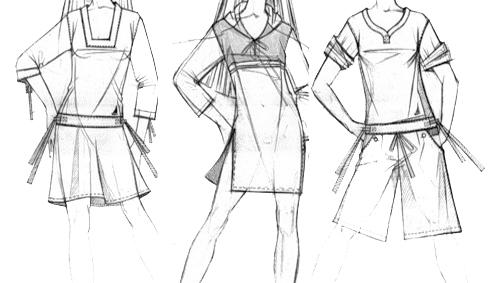 Как сшить платье как у аниме